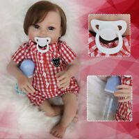 20'' Reborn Baby Dolls Realistic Vinyl Silicone Newborn Girl Doll Handmade Gifts