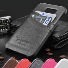 Samsung Galaxy S6 i9600 G920 Imitación Funda de Móvil Con 2 Mapas Compartimentos