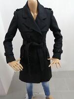 Cappotto ELISABETTA FRANCHI Donna Taglia Size 40 Jacket Woman Veste Femme P 7563