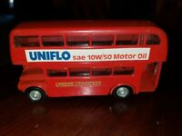 Budgie Toys AEC Routemaster 64 seater double decker London bus made in England