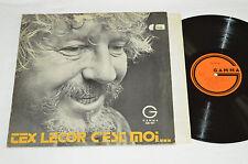 TEX LECOR C'est Moi Et Lui Aussi LP 1972 Gamma Records Canada GS-147 Quebec Folk