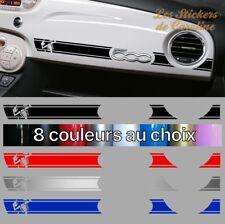 STICKER BANDE ABARTH FIAT 500 SPORT RACING TABLEAU DE BORD AUTOCOLLANT BD536-4
