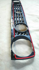 NEU VW GOLF 2 GTI G60 SYNCRO KÜHLERGRILL ROTER RAND FRONTGRILL EDITION ONE BLUE