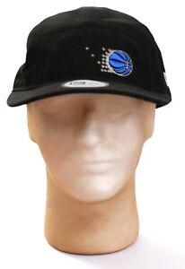 New Era NBA Orlando Magic Black Adjustable Camper Hat Adult One Size NWT