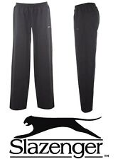 Boys Slazenger Tracksuit Bottoms/poly Pants 2-6y Navy/black Sports Trousers 2 - 3 Years Navy