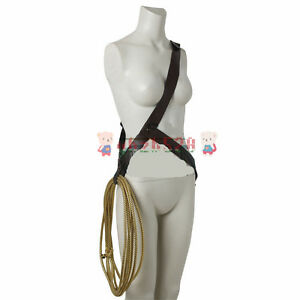 Wonder Woman Cosplay Diana Prince Props Turth Rope String With Belt Prop Costume