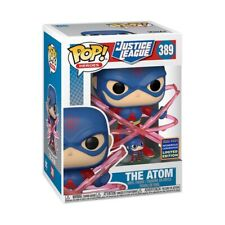 DC Justice League The Atom Shared Wondercon Exclusive Funko Pop W Display Case