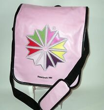 Women's Girls Reebok Pink Tote Gym Swimming School Messenger  College Bag BNWT
