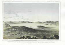 1860 USPRR Kamas Prairie of the Pend d'Oreilles Indians in the Rocky Mountains.