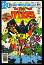New Teen Titans #1 High Grade First Issue DC Comic 1980 VF