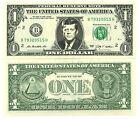 JFK JOHN FITZGERALD KENNEDY VRAI BILLET de 1 DOLLAR US! Collection Président USA