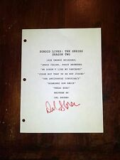 Sordid Lives: The Series Season 2 Script Sets SIGNED by DEL SHORES!!