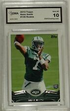 2013 TOPPS GENO SMITH #126 ROOKIE CARD GEM MT 10 BY GMA NY JETS QB
