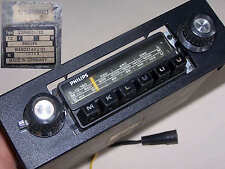 Autoradio Oldtimer Philips Tourismo mech. Stationstasten M K L U U U vintage