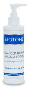 Biotone Advanced Therapy Massage Lotion 8 oz. with Pump