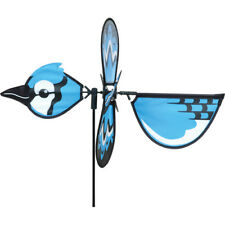Petite Blue Jay Whirly Wing Wind Spinner .7.Pr 25037