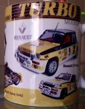 Renault Turbo cars R 5, Alpine A442 , F1 RE 20 MUG