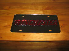Winchester license plate/ Laser cut 3D Inlaid Tag