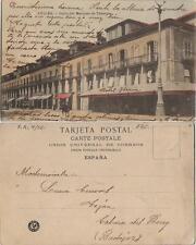 Tarjeta Postal. Avilés. (Asturias). Calle del Marques de Tebergo.