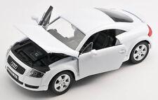 BLITZ VERSAND Audi TT 1998-2006 weiss / white Welly Modell Auto 1:24 NEU & OVP