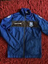 Boys Blue Tranmere Rovers/Carbrini Lightweight Hooded Jacket Size SB (7-9 Years)