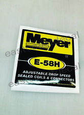1 Meyer pump E58H replacement decal for Meyer E58-H Pump E-58H Blk/YL (MP5) NEW