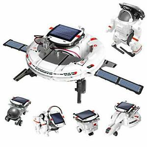 AoHu 6-in-1 STEM Projects Science Solar Robot kit for Kids Educational Space ...