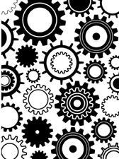Steampunk Gears 4.25x5.75 Darice Embossing Folder 1217-54