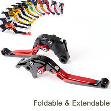 Folding Extend Brake Clutch Levers For MV Agusta F4RR/F4RC (2011-2019) Red