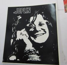 Janis Joplin Sticker Collectible Rare Vintage 90'S Metal Live Decal