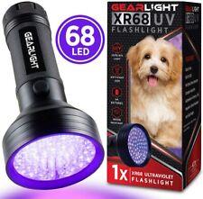 UV Black Light Flashlight XR98 - Powerful 100 LED Blacklight Flashlights,for Pet