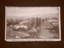 Scene della prima guerra mondiale 1914 WW1 Uzsok Passo Carpazi occupato russi