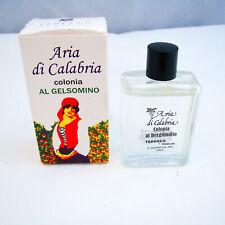 Tedesco Aria di Calabria AL GELSOMINO Colonia (Cologne) 0.8 oz 25 ml READ