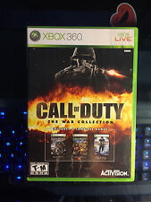 Call of Duty: The War Collection (Microsoft Xbox 360, 2010) Mint and Complete