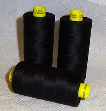 GUTERMANN Thread DARK CHARCOAL GRAY ONE (1) Spool 1,094yd color 7905