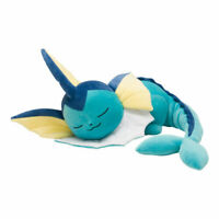 Pokemon Center Original Plush Doll Sleeping Vaporeon JAPAN OFFICIAL