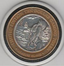 2004 Treasure Island Siren of the Sea .999 Fine Silver Strike $10 Casino Token