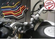 Honda Grom Msx 125 Handle Bar Lower Sport Kit Set Support Squat Drag Bike Mirror