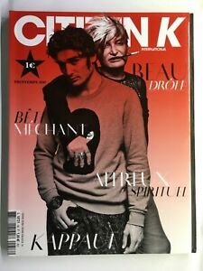 CITIZEN K Magazine 58 Kappauf MARIE–AGNES GILLOT Ilse de Boer OSCAR TRANUM new
