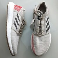 adidas Pureboost Go Tan White Infrared Running Shoes Men's NEW