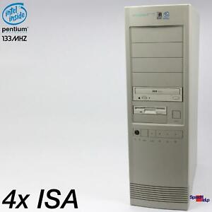 4x Isa Slot MSI MS-5120 Computer PC Pentium 133MHZ RS-232 Parallel Windows 95 98