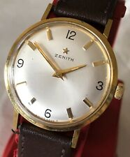 Vintage Mans Zenith Watch with rare 2542 Movement.