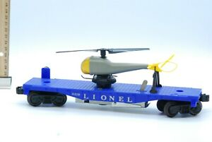 Vintage Lionel HO Freight Car 0319 Helicopter Launching Car