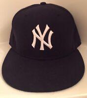 New York Yankees Baseball Hat  Authentic MLB Baseball New Era Cap Size 7 1/2