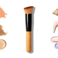Pro Makeup Powder Blush Face Cheek Flat Angled Contour Brush Foundation Cosmetic