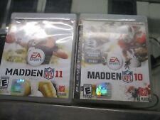 EA SPORTS Madden 11 / Madden 10 PS3 Playstation 3