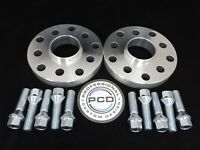 30mm VW AUDI 5x112 OR 5X100 Hubcentric Wheel Spacers, 57.1 bore &10 TAPER Bolts