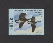 In3 - Indiana State Duck Stamp. Single. Mnh. Og.