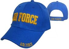U.S. Air Force Gold Letters Royal Blue Embroidered Cap Hat 603DG