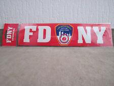 Departamento de bomberos de Nueva York etiqueta engomada de FDNY 30 cm tope RAR!